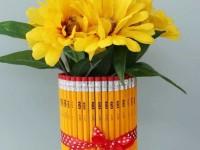 Поделки из карандашей — необычные, красивые и оригинальные игрушки и поделки из новых и использованных карандашей (105 фото)