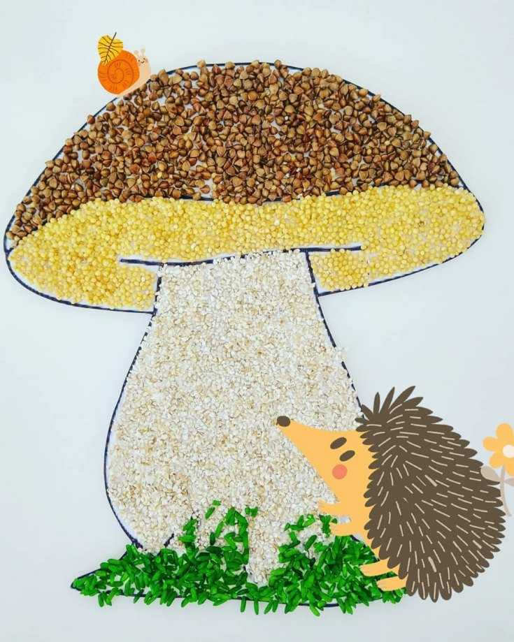 картинка поделки грибами аристократических сословий тут