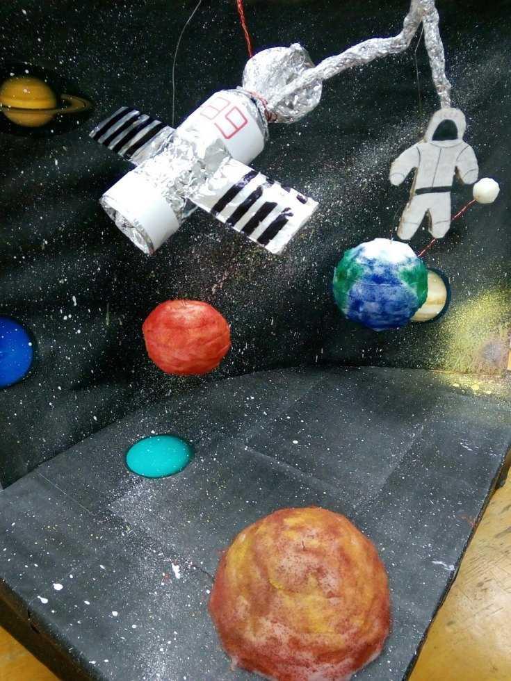 необходимо придерживаться поделки на тему космоса фото примеру, металлические трубы
