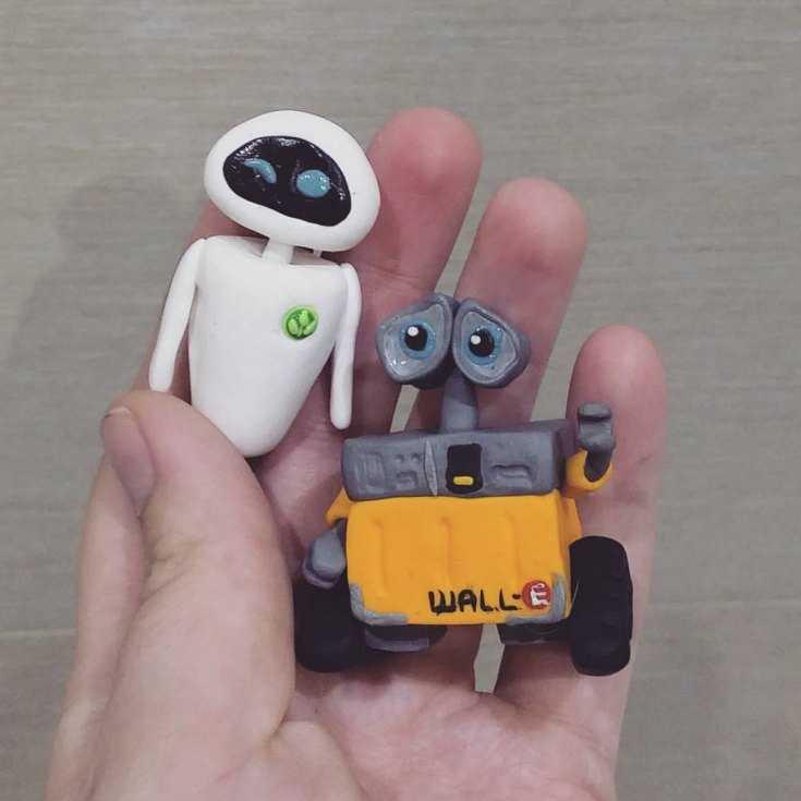картинки про роботов из пластилина республике