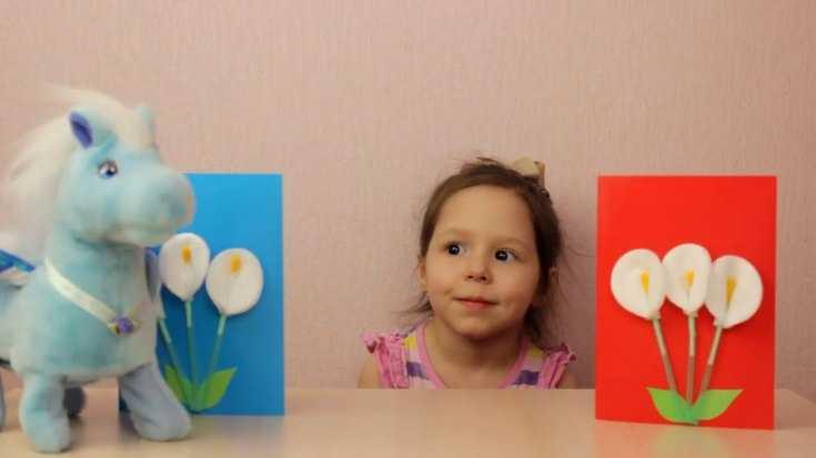Какие поделки можно делать с ребенком 4 года