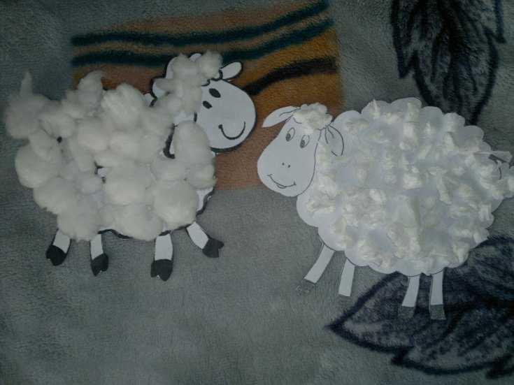 Поделка овечку картинки