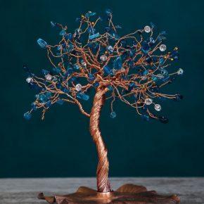Поделка дерево из бисера своими руками — инструкция по созданию красивых поделок с необычным дизайном. Лучший мастер-класс  смотрите здесь!