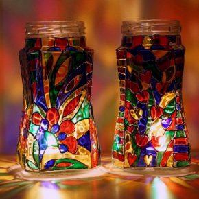 Поделки из стекла — мастер-класс для начинающих, технология изготовления и разновидности стеклянных поделок (105 фото)
